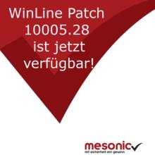 WinLine Patch 10005.28 ist jetzt verfügbar!