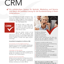 mesonic CRM Datenblatt