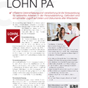 mesonic LOHN Deutschland Datenblatt