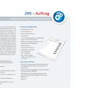 ZMI-Schnittstelle Auftrag Datenblatt